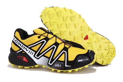 Salomon Speedcross 3 CS Yellow Black Running Shoes   share and want   Scoop.it