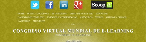 Congreso Virtual Mundial de e-Learning | Noticias, Recursos y Contenidos sobre Aprendizaje | Scoop.it