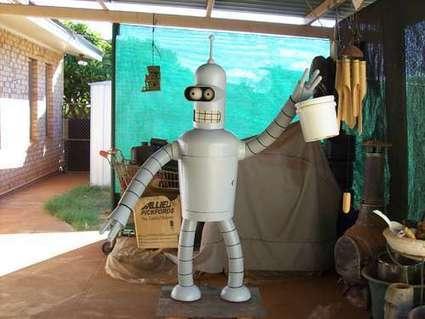 Bender de Futurama en Real Size ! | Deletom - Divers | Scoop.it