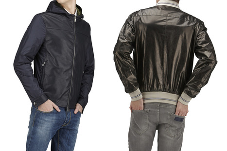 Men's light leather jackets S/S 2015 | Le Marche & Fashion | Scoop.it