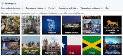 Facebook's New Ad Preferences Help Brands Identify Most-Interested Travelers | Tourism Social Media | Scoop.it