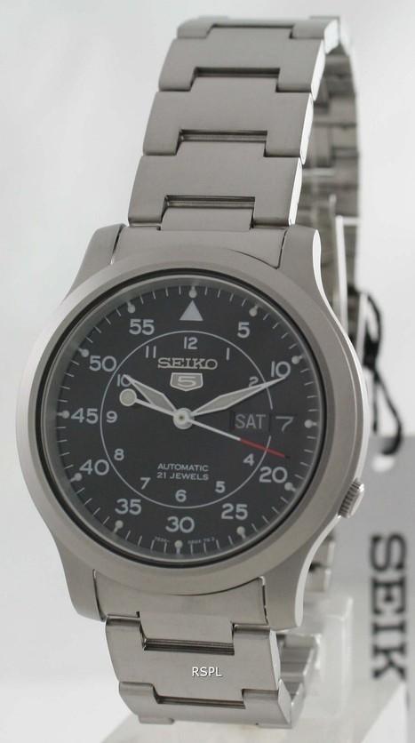 Seiko 5 Automatic | Seiko Velatura Chronograph | Scoop.it
