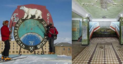 This Soviet Era Ghost Town In The Arctic Circle Is Literally Frozen In Time   The Arctic Circle   Scoop.it