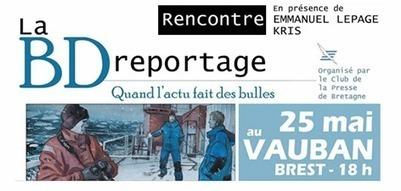 Finistere 2.9 - La #BD reportage s'invite à #Brest,... | Facebook | BD-Journalisme | Scoop.it