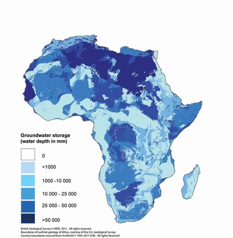 Groundwater maps of Africa | Water- Sofia | Scoop.it