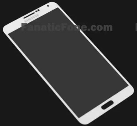 Samsung GALAXY Note 3 Front in white leaked | AGOTTE News | Scoop.it