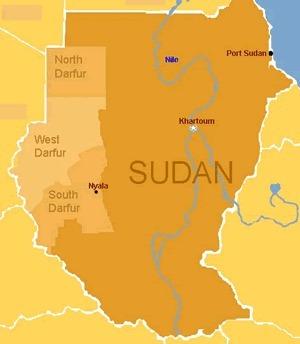 Map of Sudan | Genocide ~ Whitney | Scoop.it