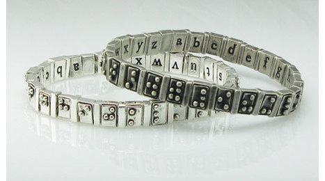 Braille bracelet wins People's Design Award - Core77   Design   Scoop.it
