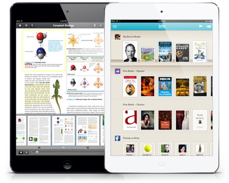 Top 10 Free iBooks Alternatives (Reading Apps) For Your iOS Devices | 21st Century Teaching and Learning Resources | Scoop.it