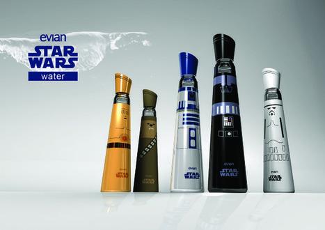 STAR WARS Inspired Evian WaterBottles   GeekGasm   Scoop.it