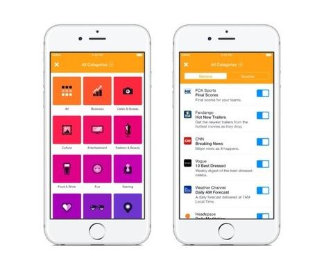Facebook's new Notify app merges RSS feeds with push notifications | RSS Circus : veille stratégique, intelligence économique, curation, publication, Web 2.0 | Scoop.it