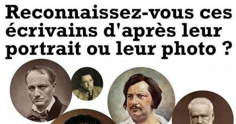 Portrait des écrivains français | school | Scoop.it