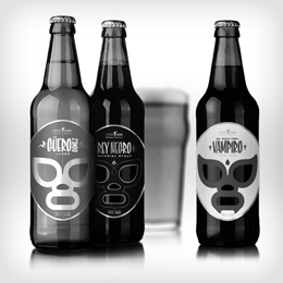 Superbes étiquettes pour une marque de Craft-Beer mexicaine | Beer Revolution | Scoop.it