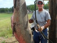 Texas fisherman prevails in epic battle with enormous alligator gar | READ WHAT I READ | Scoop.it