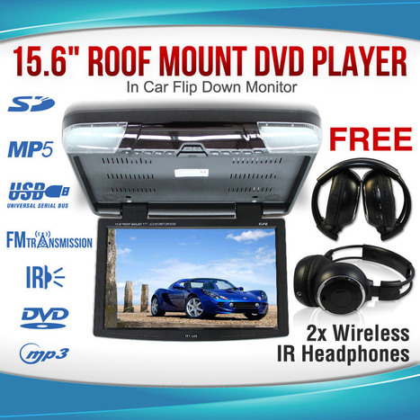 CR1506: The Roof Mount DVD Player That's Perfect for the Whole Family | Roof Mount DVD Player: HIgh Definition and Crystal-Clear Pictures | Scoop.it