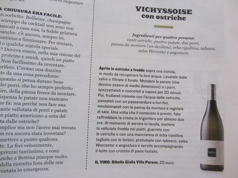 METTI, UNA SERA A CENA: OSPITE INATTESO? Vichyssoise con ostriche e Ribolla Gialla Villa Parens. | EATING AND COOKING. | Scoop.it