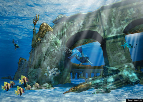 Dive Into The World's Largest (And Greenest!) Underwater Theme Park | ScubaObsessed | Scoop.it