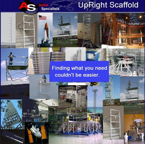 Upright Scaffold Scaffolding Aluminum Instant Vault | Cyrus | Scoop.it