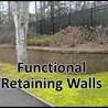Retaining walls Cumming