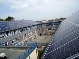 Des panneaux solaires sur le toit d'un hôpital belge pour une autoconsommation à 95% de la production | Micro Grid | Scoop.it