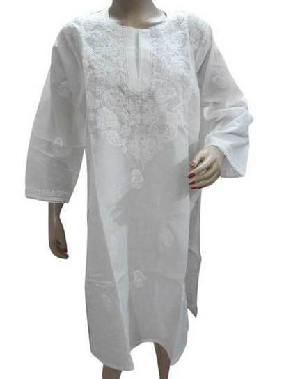 White Casual Kurti Boho Cotton Tunic | Sarees kurtis Jewellery | Scoop.it