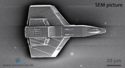 Tiny 3-D printed spaceship constructed: Only 125 µm long - and it took only 50 sec to produce | Amazing Science | Scoop.it