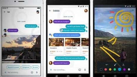 Google lanza Allo, un WhatsApp con inteligencia artificial | Learn and Share! Education, resources and more! | Scoop.it