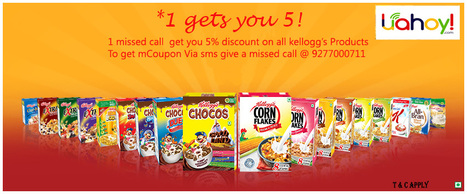 5% Discount on all Kellogg's Product | Aman Agarwal | Scoop.it