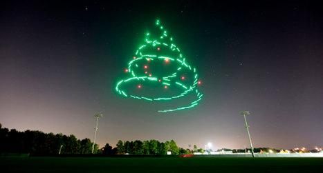 (Buzz) Disney World imagine une magnifique chorégraphie avec 300 drones lumineux pour Noël | A.S.2.0 - 16 | Scoop.it