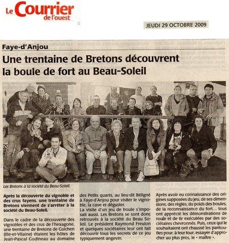 Le Petit Anjou illustré : la Boule de Fort (6/6) | Généalogie | Scoop.it