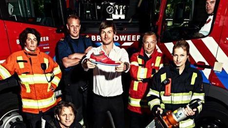 Floris van Bommel komt met knalrode 'brandweersneaker': opbrengst voor Brandwondenstichting | Huisstijl | Scoop.it