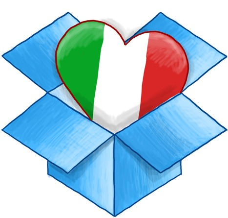 DROPBOX FINALMENTE PARLA ITALIANO | ZenRo Web Design Portfolio | Scoop.it