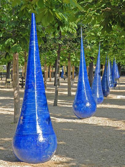 "Xavier Boggio: ""Blue drops"" | Art Installations, Sculpture, Contemporary Art | Scoop.it"