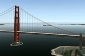 "X-Plane.Org releases the ""Golden Gate Bridge"" 