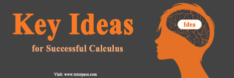 Key Ideas for Successful Calculus | Selecting an Online Maths Tutor -- An Overview | Scoop.it