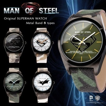 [S$39.70][Man of Steel] Original Superman Watch / Batman [8types] /MANOFSTEEL | cool pages | Scoop.it