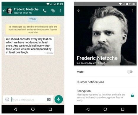 WhatsApp completes end-to-end encryptionrollout | QR Codes, Beacons & NFCs | Scoop.it