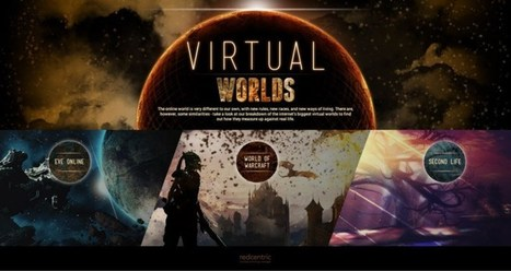 Comparing the virtual worlds of Warcraft, Second Life, and Eve Online to our own yields some surprising stats | The DigiTeacher | Scoop.it