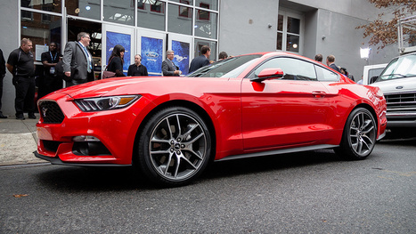 Ford's New Mustang: Designed For the Future, Without Ignoring the Past | FutureChronicles | Scoop.it