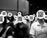 Photographer's QR Code Faces Reinterpret Our Digital World [Pics] - PSFK | AniseSmith QR codes | Scoop.it