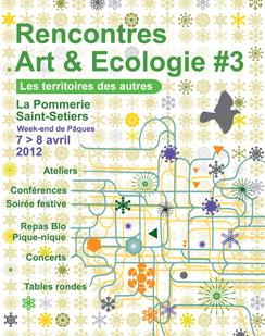 Rencontres arts et écologie 3 | DESARTSONNANTS - CRÉATION SONORE ET ENVIRONNEMENT - ENVIRONMENTAL SOUND ART - PAYSAGES ET ECOLOGIE SONORE | Scoop.it