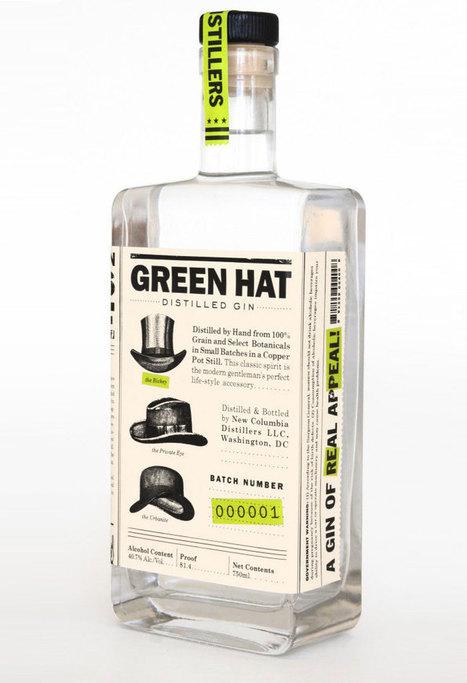 Green HatGin - The Dieline - | Eco Branding | Scoop.it