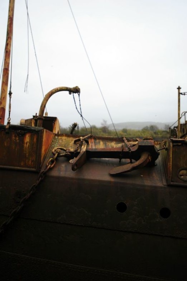 Forty-two years in the River Neath but this rusty ship has a heroic D-Day past | D-Day 1944 e-Mag | Scoop.it