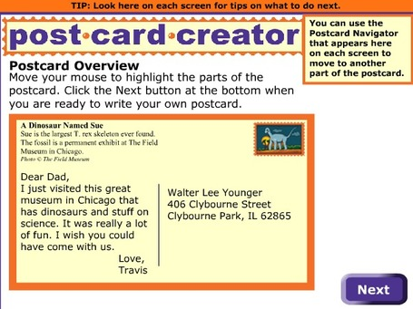 ReadWriteThink Postcard Creator | IKT och iPad i undervisningen | Scoop.it