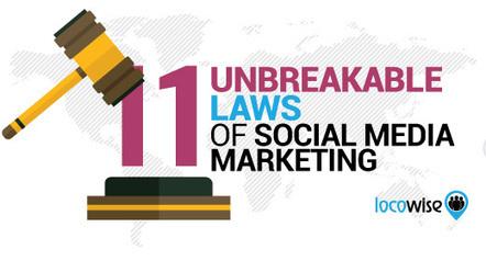 11 Unbreakable Laws Of Social Media Marketing | World of #SEO, #SMM, #ContentMarketing, #DigitalMarketing | Scoop.it
