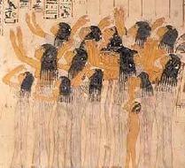 Pintura funeraria egipcia antigua   Desarrollo mediante el Arte   Scoop.it
