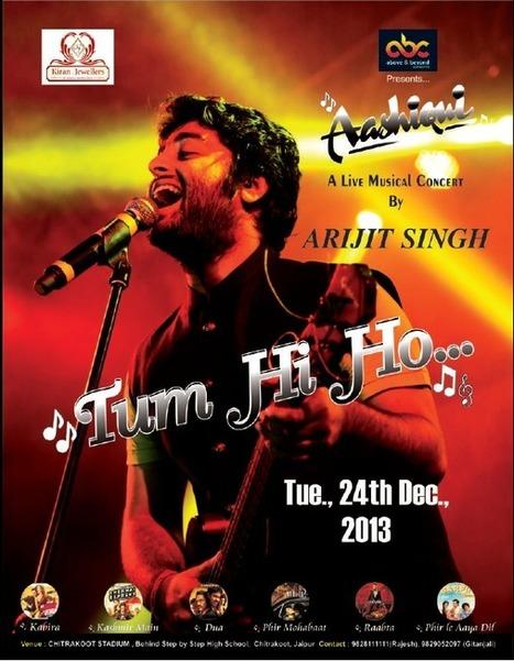 Raabta with Arijit Singh Concert in Jaipur 24 Dec 2013   New Year Parties in Jaipur, Events, Deals, Celebration.   New Year parties in Jaipur 2013 - 2014   Scoop.it