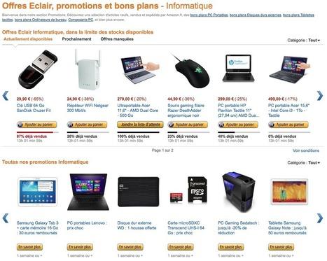 Promo Informatique : de très nombreuses offres éclair disponibles actuellement sur Amazon - Yes I Will | News from net | Scoop.it