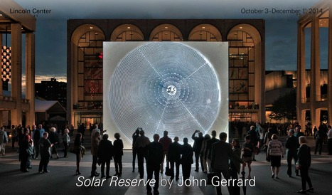 Solar Reserve (Tonopah, Nevada) by John Gerrard   What's new in Visual Communication?   Scoop.it