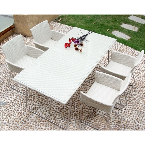 Give a Stylish Look to your Outdoor Space with Outdoor Furniture Dining Sets!   Poundex Furniture -  Offices and homes   Scoop.it